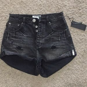 NWT one teaspoon high waisted bandits size 27